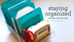Staying Organized Video by Jennifer McGuire Ink
