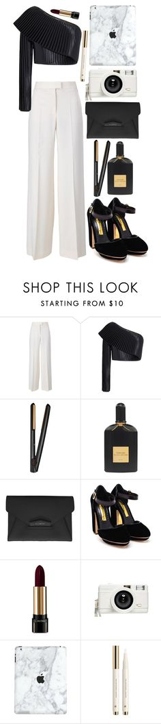 """Happy new year! (2015-2016)/ Look 5."" by anaalsan ❤ liked on Polyvore featuring STELLA McCARTNEY, Balmain, GHD, Tom Ford, Givenchy, Rupert Sanderson, Lancôme, Lomography, H&M and newyear"