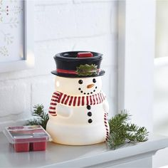Better Homes and Gardens Full Size Warmer, Festive Snowman - Walmart.com