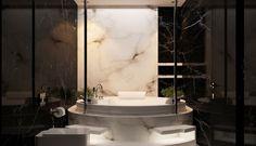 30 Marble Bathroom Design Ideas (16)