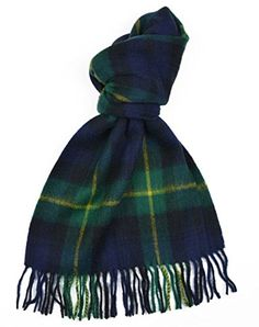 Lambswool Scottish Gordon Clan Modern Tartan Clan Scarf Gift * Want to know more, click on the image.