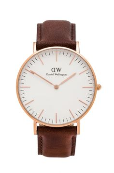 Daniel Wellington Classic St. Andrews Lady 36mm in Rose Gold | REVOLVE