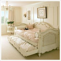 I'd love this in DD's room...one day...Victorian Day Bed By Designs