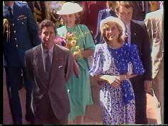 April 11, 1983: Prince Charles & Princess Diana in Brisbane, Queensland.