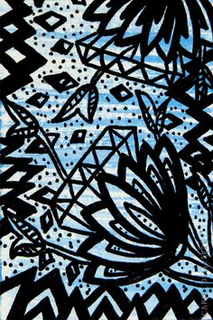 Flores Diamante - Background e Wallpaper criados por Carol Delleteze. Desenhos originais, únicos, feitos a mão disponíveis para download.  #caroldelleteze #background #wallpaper #desenholudico #arte #art #handmade #illustration #pattern #flores #floral #flower #diamante #azul