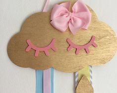 Unicorn hair bow holder