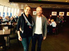 Treffen mit Julia Friedek, Absolventin aus 2005, heute Projektleitung Marketing/Tourismus bei der Region Köln-Bonn