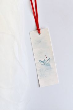 Articoli simili a Segnalibro con barchetta ad acquerello su Etsy – Keep up with the times. Creative Bookmarks, Cute Bookmarks, Paper Bookmarks, Bookmark Craft, Watercolor Bookmarks, Watercolor Cards, Vintage Bookmarks, Art N Craft, Diy Art