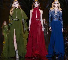 Elie Saab Fall/Winter 2015-2016 Collection - Paris Fashion Week.