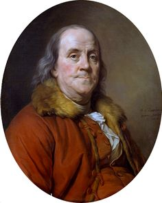 Benjamin Franklin Artist: Joseph Siffred Duplessis (French, Carpentras Versailles) Date: 1778 Medium: Oil on canvas Dimensions: Oval, 28 x 23 in. x cm) Classification: Paintings Credit Line: The Friedsam Collection, Bequest of Michael Friedsam, 1931 Conquistador, American Presidents, American History, American Art, Pablo Picasso, Benjamin Franklin Biography, Barack Obama, National Symbols, American Revolutionary War