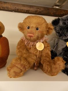 """Size: 38cm (15"""") Introduced in 2012 - Part 2 Charlie Bear TINK is part of the Charlie Bear plush collection and is handmade using the very best quality materials. £39.99"""