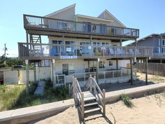 Queen O' Sea is a Oceanfront Sandbridge rental with 9 bedrooms and 8 bathrooms. Find amenities, availability and more regarding this Siebert Realty rental property here.