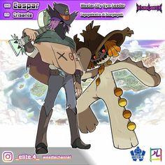 Pokemon Rpg, Pokemon Memes, Pokemon Fan Art, New Pokemon, Pokemon Fusion, Pokemon Trainer Costume, Pokemon Regions, Haruhi Suzumiya, Gym Leaders