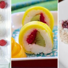"""Instead of raw fish, these """"fruishi"""" recipes use fruits like melon and strawberry to create a delicious summer dessert that's also healthy.   Health.com"""