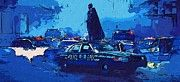 Batman Night Art by Super Hero