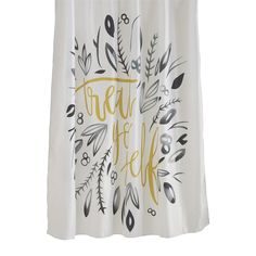 Barelli Shower Curtain PolystrTreat Yourself | Bunnings Warehouse