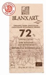 Dominican Republic Dark Chocolate with Almonds, Cocoa, Organic, (Blanxart) Dried Bananas, Dried Blueberries, Dried Apples, Organic Dark Chocolate, Dark Chocolate Almonds, Healthy Crisps, Fruit Puree, Pecan Nuts, Cacao Powder