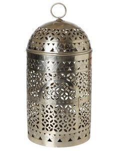 DOME ljuslykta silver | Lanterns | Ljus & lyktor | Inredning | INDISKA Shop Online