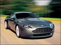 Aston Martin V8 Vantage. You may have worked out by now that I have a soft spot for Aston Martin's. Beautiful cars.