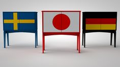 The International cabinet collection. Japan.Germany,and Sweden