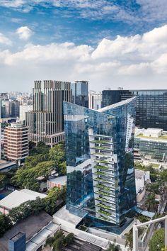 vitra apartment building - são paulo brazil - studio libeskind - photo by ana mello via archdaily