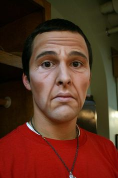 Old man of makeup tips