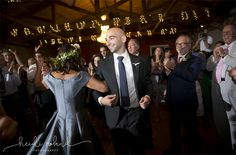 Willow Creek Winery, Modern Vineyard wedding reception Cape May NJ, mother and son hora