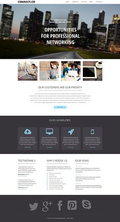 Template 50490 - Computers & Internet Responsive WordPress Theme