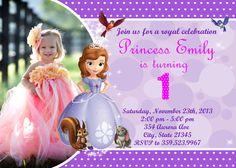 Sofia the First Birthday Party Invitation  by FunPartyInvitation, $8.99