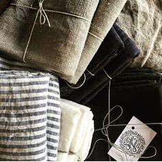 Metta - Tea Towel - Linen - Various Colours Linen Store, Textiles, Tea Towels, Scarlet, Concept, Colours, Instagram Posts, Gifts, Kitchen Towels