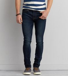 Dark Indigo Super Skinny Active Flex Jean
