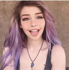 Pretty Lavender hair💜 Source by Hair Inspo, Hair Inspiration, Character Inspiration, Character Design, Wedding Hairstyles, Cool Hairstyles, Easy Hairstyle, Pelo Multicolor, Cute Emo Girls