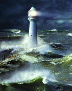 Lighthouse Lámina