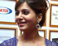 Samantha Ruth Prabhu looking cute in blue !