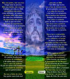 Paradoxo - Com audio/recitado- JC Avelar- ZKFeliz // Nieves María Merino Guerra - Espiritualidade - Casa dos Poetas e das Poesias