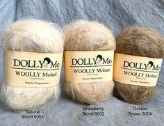 DollyMo Waldorf Puppe Haare natürliche Stoffpuppe natürliche