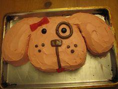 The Conrad Family: Talia is six. Puppy Birthday Cakes, Puppy Birthday Parties, Puppy Party, Birthday Fun, Birthday Ideas, Mini Cakes, Cupcake Cakes, Butterfly Cakes, Dog Cakes