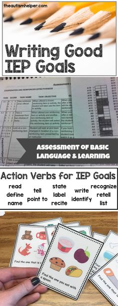 Get back to the basics of good ole\' IEP goals to enhance your teaching today!! From theautismhelper.com #theautismhelper