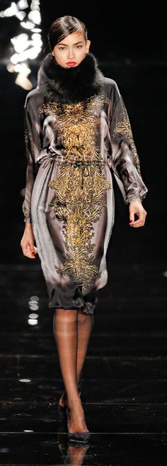 Reem Acra at New York Fashion Week Fall 2013 #PurelyInspiration