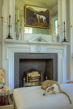 The Exceptional Interior Designer You've Never Heard Of - laurel home   incredible fireplace mantel, home, gardens furnishings of Furlow Gatewood : photo credit: Rod Collins