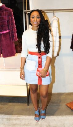 Shiona Turini at the opening party for the new Fendi boutique in Miami's Design District wearing Fendi Resort16