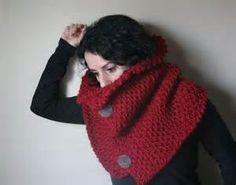 chunky knit wrap - - Yahoo Image Search Results