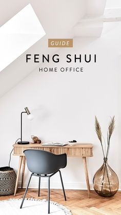 Feng Shui Home Office, Home Office Lighting, Fancy Houses, Home Office Organization, Interior Design Tips, Fall Home Decor, Home Renovation, Office Desk, New Homes