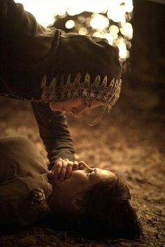 "(Rp? I need someone to be him) He pinned me to the ground. I tried to scream but his hand covered my mouth. ""You know, you're a very pretty girl."" He whispered, smirking. I stared up at him, terrified. (Don't know who to give credit to, sorry)"
