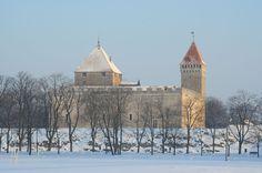 Le château teutonique d'Arensbourg, aujourd'hui château de Kuressaare. Estonia