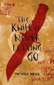The Knife of Never Letting Go By Patrick Ness. Prentisstown isn't like other towns. Everyone can hear everyone else's thoughts in an overwhelming, never-ending stream of Noise. Todd and his dog, Manchee — whose thoughts Todd can hear too, whether he wants to or not — stumble upon an area of complete silence. They find that in a town where privacy is impossible, something terrible has been hidden — a secret so awful that Todd and Manchee must run for their lives.