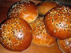 Nem vagyok mesterszakács: 15 legjobb szendvics zsemle, szendvics kifli, szendvicskenyér házi pékségemből Hamburger, Bread, Food, Brot, Essen, Baking, Burgers, Meals, Breads