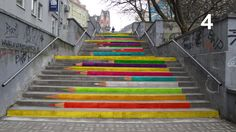 Public voting on the best project of stairs for a city of Poznań (Poland) from www.ulepszpoznan.pl .  Website contains this, and many more user-activating acitons.