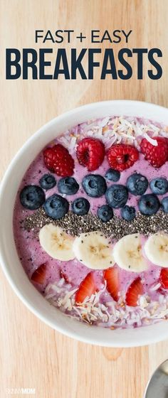 Make the morning a breeze with these delicious breakfasts!