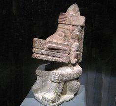 Aztec Deities Ehecatl, Wind God